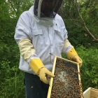 Rob, our beekeeper